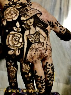 Best Mehndi Designs of 2020 – Most Unique Ideas - SetMyWed Rose Mehndi Designs, Basic Mehndi Designs, Henna Art Designs, Stylish Mehndi Designs, Mehndi Designs For Beginners, Mehndi Designs For Girls, Mehndi Design Photos, Wedding Mehndi Designs, Dulhan Mehndi Designs