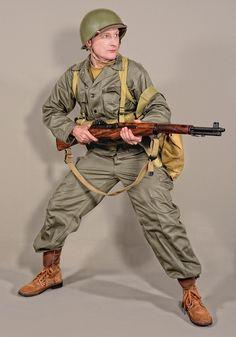 Military - uniform US soldiers WW2 HBT OD7 - 03 by MazUsKarL on DeviantArt #american #army #gasmask #gi #history #infantry #invasion #olivedrab #soldier #thompson #uniform #usa #usarmy #usmilitary #war #warfare #ww2 #battledress #armymilitary Army Love, Us Army, Ww2 Uniforms, Military Uniforms, American Uniform, Military Drawings, Ww2 History, Army Uniform, Korean War