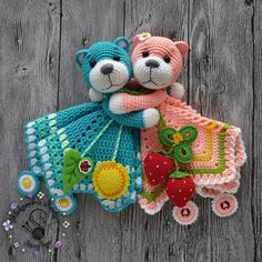 Free amigurumi doll and animal crochet patterns are waiting for you. You can find everything about Amigurumi. Crochet Security Blanket, Crochet Lovey, Crochet Patterns Amigurumi, Amigurumi Doll, Baby Blanket Crochet, Crochet Dolls, Crochet For Kids, Easy Crochet, Free Crochet