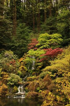 Portland Japanese Gardens - 377 by ISeeTheLattice on DeviantArt Portland Japanese Garden, Natural Garden, Country Roads, River, Nature, Outdoor, Outdoors, Naturaleza, Rivers