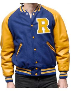 Stunning style #Riverdale #KJApa Blue Varsity Jacket. It has new look with several qualities.