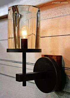 Alison Berger cylinder sconce from Holly Hunt