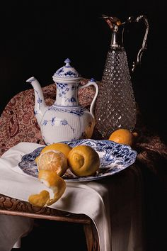 Willem Kalf (1619 –1693) [1] was a Dutch Golden Age painter who specialized in still lifes.