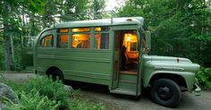 See the extreme makeover of this 1959 Chevrolet Viking bus