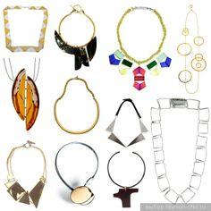 persephoni 4 pyramids necklace