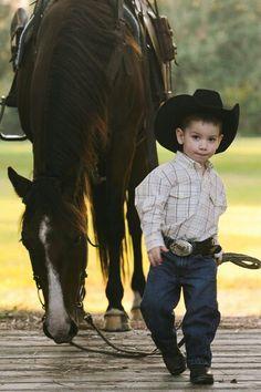 .Handsome Kid Cowboy