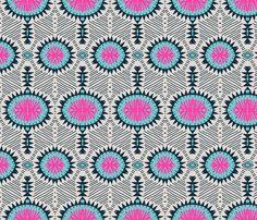 zebrini_tribal_samba fabric by holli_zollinger on Spoonflower - custom fabric