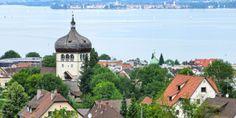 Martinsturm © Curt Huber, Bregenz Tourismus & Stadtmarketing Feldkirch, San Martin, Most Beautiful Cities, Austria, Paris Skyline, Mansions, House Styles, World, City