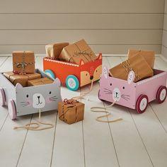 Book Storage Cart, Miss Cat Home > Storage > Book Storage Great Little Trading Co. Storage Cart, Book Storage, Childrens Lamps, Childrens Bedroom, Diy Cadeau Noel, Diy Bebe, Wooden Animals, Wooden Crafts, Wood Toys