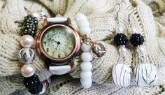 White Watch Arm Candy - Sold to Kit