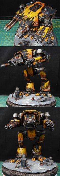 Legio Fureans Warhound Titan
