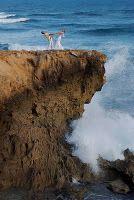 Wedding on a cliff!