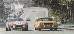 1972 Tour de France Vic Elford Ferrari G Larrousse Ford Capri