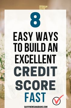 Here's how you can build an excellent credit score or repair a credit that has gone bad. These 8 easy steps will improve your credit score quickly and help you raise it by as much as 200 points! Check Your Credit Score, Fix Your Credit, Good Credit Score, Improve Your Credit Score, Building Credit Score, Build Credit, Rebuilding Credit, Credit Repair Companies, Paying Off Credit Cards