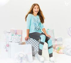 """I'm so excited to launch this new line!! The coloring and the metallic prints are really cool."" -Mackenzie Ziegler"