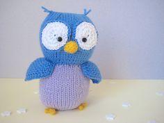 Ravelry: Hoots the Owl pattern by Amanda Berry