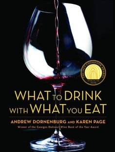 This book was recommended to me by the bartender at D.C.'s SOVA over a year ago and is still the bible for pairing drinks anything from lamb chops (Cabernet Sauvignon),  to white castle hamburgers (Riesling)...