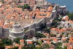 Fortificaciones de la antigua República de Ragusa. Dubrovnik. Croacia.
