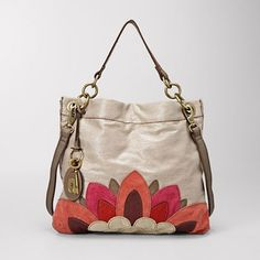 lyla floral hobo - if only the hardware were silver