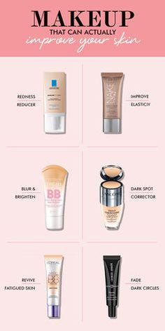 When you think of products that actually help you improve you skin, you probably don't think of makeup. That's why we were so excited about all of the products that actually do improve your skin! These are the best creams, concealers and balms for covering blemishes and eliminating them.