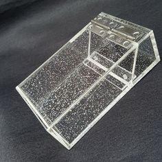 glitter transparent acrylic cigarette case Ms cigarettes cigarette box