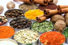 O poder das especiarias - Visite-nos em: www.teleculinaria... | Descubra receitas deliciosas, truques, dicas, cursos, o Blog Culinária A-Z e muito mais!