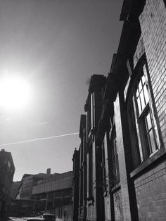 Sheffield Sun in March by McCall