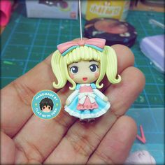 """~:*: Lolita Collection by Clay with Fern :*:~ """"She looks like a candy!"""" -Mama  This is just a teaser for my latest collection, Lolita. Eee she is so kawaii, any comments about this new collection of mine?? :) #handmade #polymerclay #claywithfern #ooak #etsy #kawaii #chibi #lolitafashion #doll"""