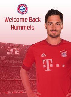 FC Bayern ... Welcome back Mats Hummels