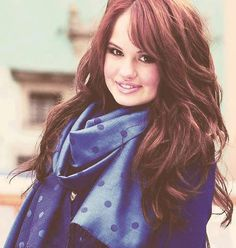 ♥ Debby Ryan, my girl crush. She's pretty much the most adorable person in the world.