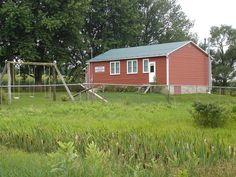 Old Order Mennonite school. Ontario, Canada (Woolwich Township, Waterloo County)