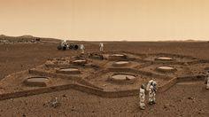 Could Future Astronauts 3D Print Habitats Using Mars and Moon Soil?