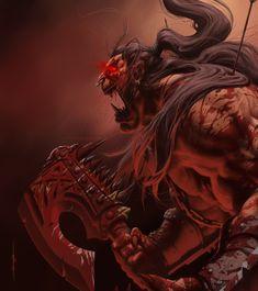 """"""" Warcraft - Grom Hellscream by Geoffrey-E """""""