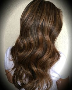 Baby lights , light honey brown , long hair Hair by: Emilio V. @hairlegacy Inc follow me on IG thx