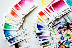 Organizing Yummy Tubed Gouache + Watercolor Paints - daisy yellow - create explore paint
