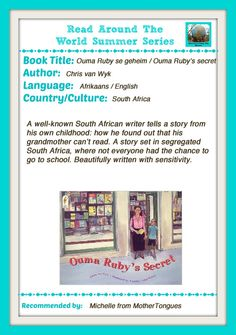 Ouma Ruby's Secret:  Read Around the World Summer Reading Series. South African book.
