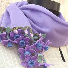 Turkish OYA Lace - Flower stol |