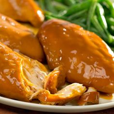 Check out this great recipe from French's: FRENCH'S Slow Cooker Chicken!