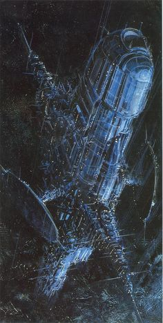 Space Fiction, Retro-Future, sci-fi art