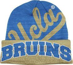 UCLA Bruins Adidas Slanted Logo Cuffed Knit Hat by adidas.  15.95. Warm 47ac5d327