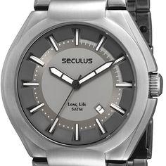 Relógio Masculino Social Seculus 28221G0SBNA1