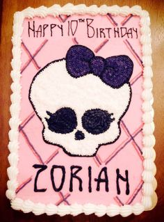 Monster High Cake Delivered By Our Triad Area North Carolina Chapter Birthday Cakes 4 Free Via Flickr