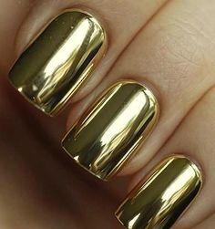 Golden nails  Gouden nagels