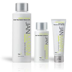 Jan Marini : Teen Clean : Benzoyl Peroxide system fights P. acnes bacteria that causes teen acne - Jan Marini Skin Research