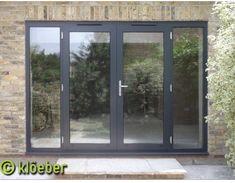 French Doors Bedroom, French Door Curtains, French Doors Patio, Patio Doors, Entry Doors, Front Doors, Oak Doors, Exterior Door Colors, Front Door Colors