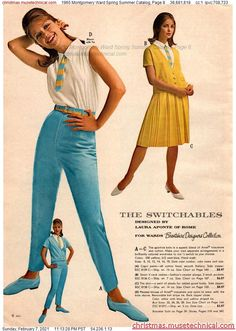Montgomery Ward, Sixties Fashion, Christmas Catalogs, Retro, Vintage Ads, Vintage Fashion, Spring Summer, Glamour, Holiday