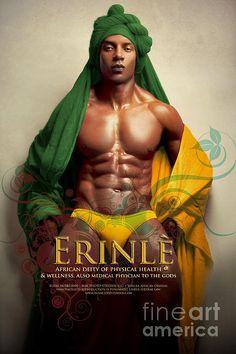 Erinle Print By James C Lewis