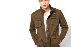 Men's Summer 2014 Utility Jacket Trends ...  Rugged utility jackets (along with their trusty cargo pant companions) have always been considered to be the standard...