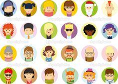 depositphotos_59304429-Character-avatar-icons-in-flat.jpg (1024×733)