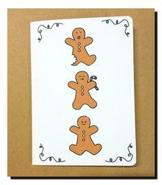 Hey, I found this really awesome Etsy listing at https://www.etsy.com/au/listing/250261853/gingerbread-christmas-card